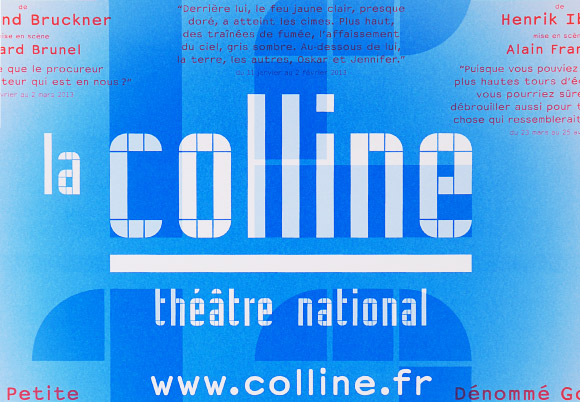 La Colline théâtre national 12/13