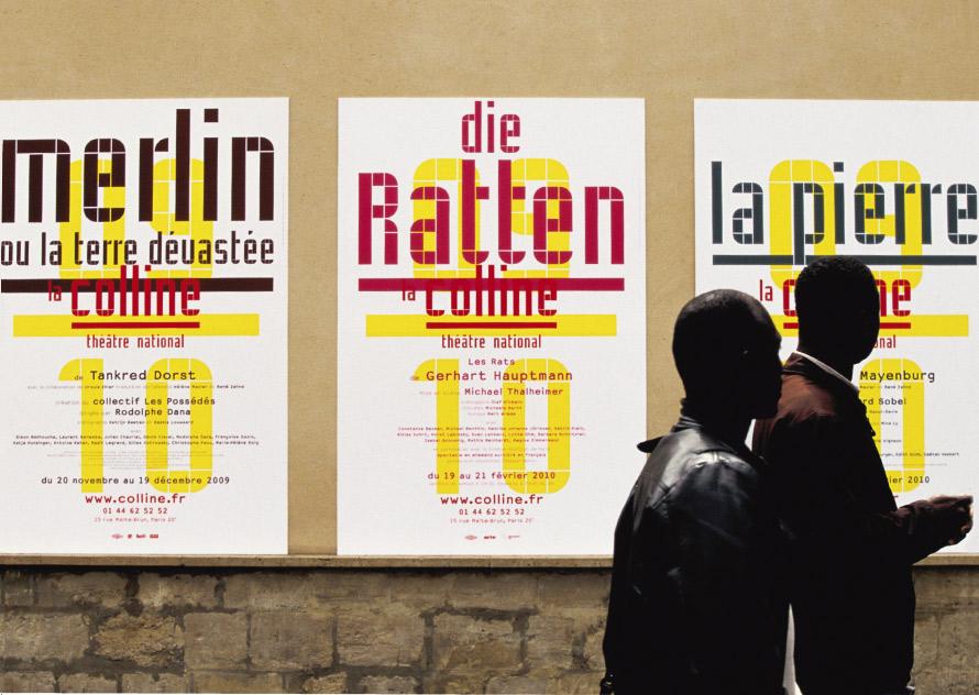 La Colline théâtre national 2009/2010