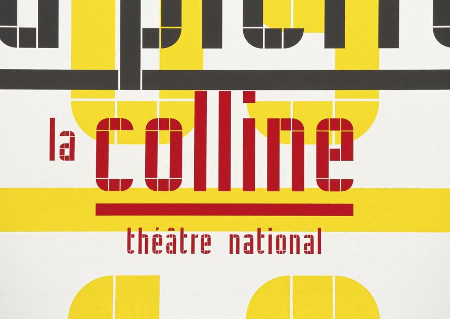 La Colline théâtre national 10/11 - Affiche
