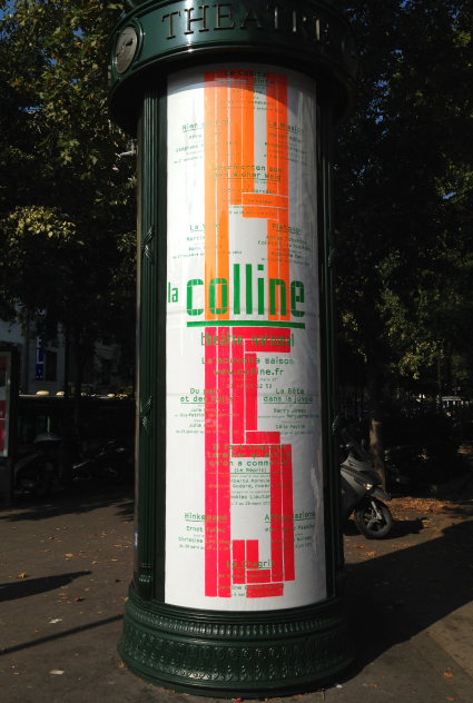 La Colline théâtre national 14/15 – Affiche