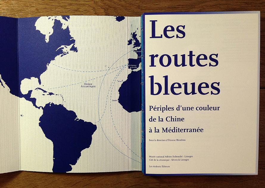 Musée National Adrien Dubouché - Exposition Les routes bleues