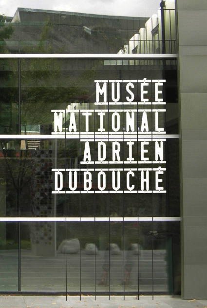 Signalétique Musée National Adrien Dubouché