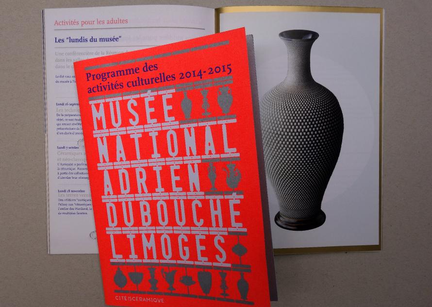 Musée National Adrien Dubouché - Programme