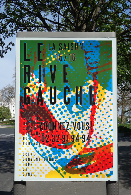 Le Rive Gauche centre culturel 15/16 - Affiche saison