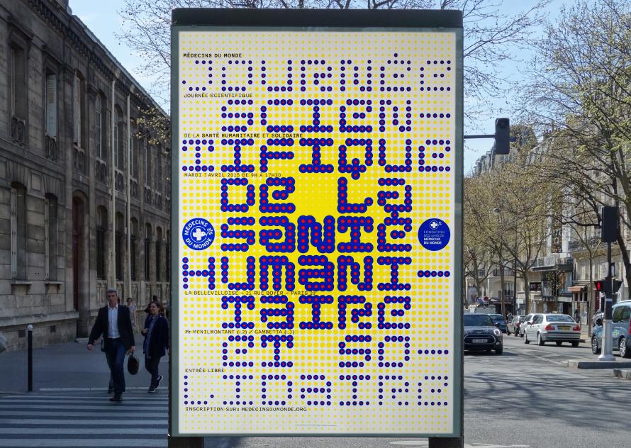 Médecins du Monde - Journée Scientifique - Affiche