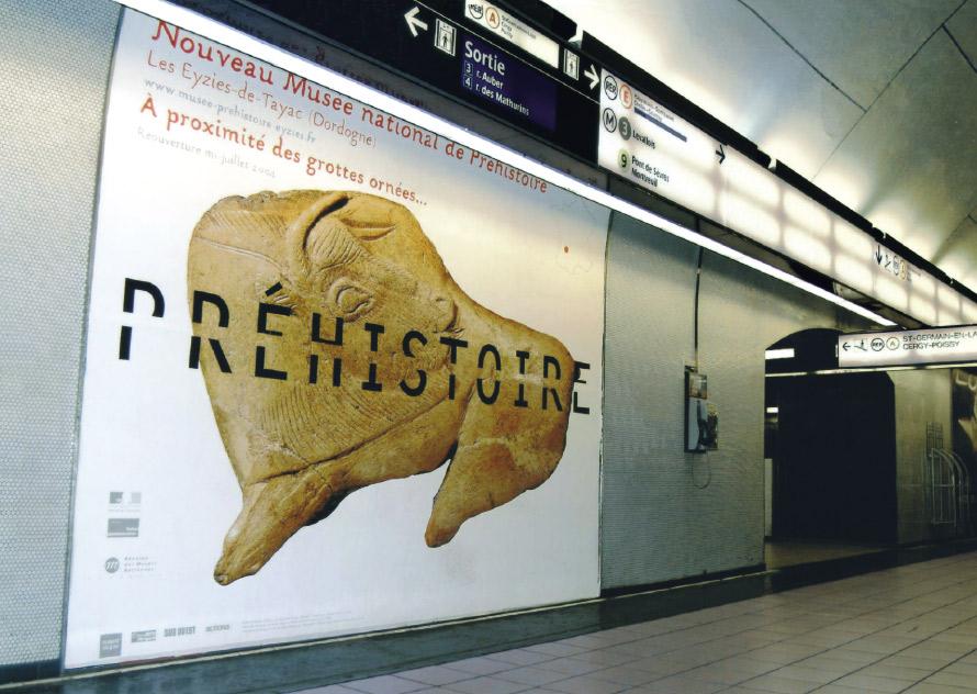 musée National de Préhistoire_affiches