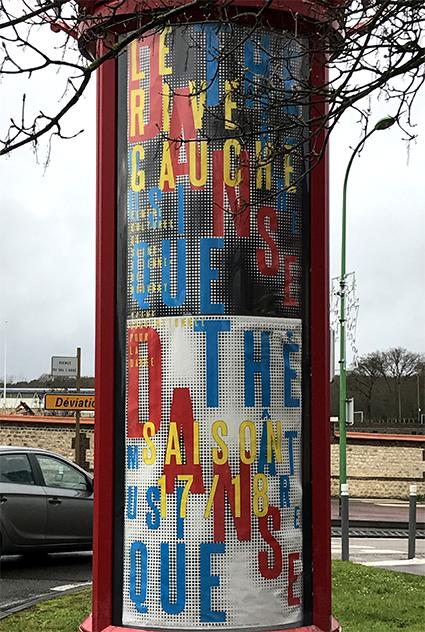 Le Rive Gauche centre culturel 17/18 - Affiche saison