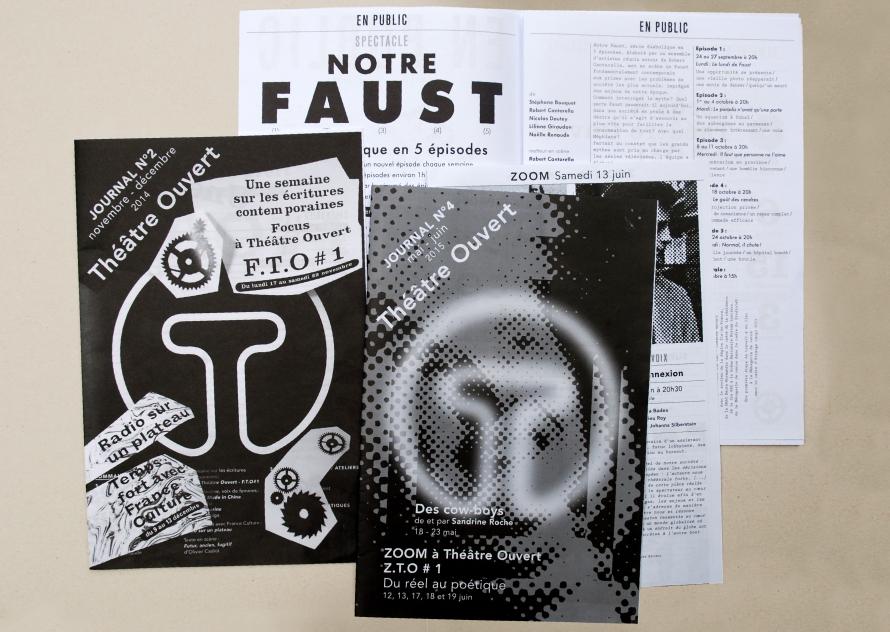 Théâtre Ouvert - Journaux