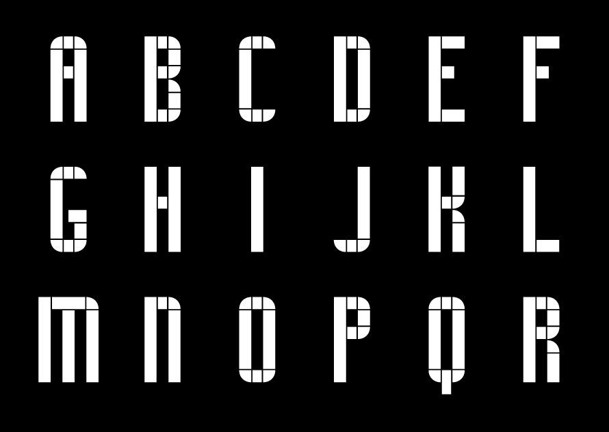 Typographie Colline